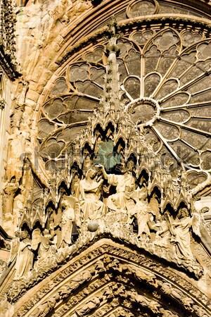 Сток-фото: собора · шампанского · Франция · здании · искусства