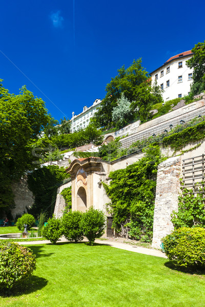 Stock photo: Ledeburska Garden and Prague Castle, Prague, Czech Republic