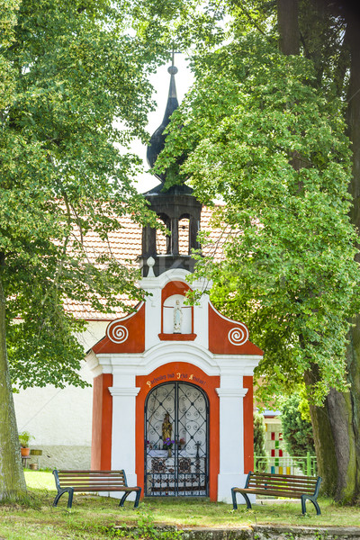 chapel in Svebohy near Horni Stropnice, Czech Republic Stock photo © phbcz