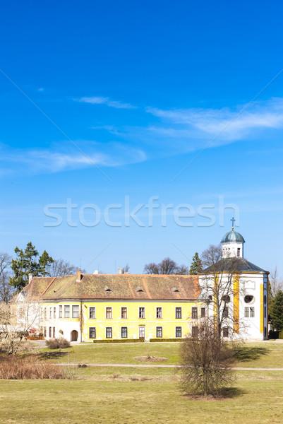 Palace Choltice, Czech Republic Stock photo © phbcz
