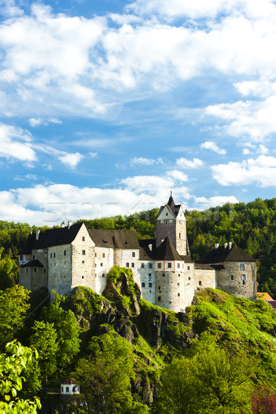 Loket Castle, Czech Republic Stock photo © phbcz