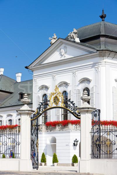 Prezidential palat Bratislava Slovacia arhitectură Imagine de stoc © phbcz