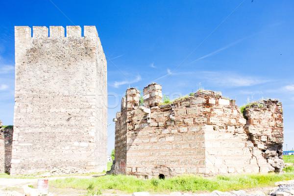 Sérvia edifício arquitetura história ruínas Foto stock © phbcz