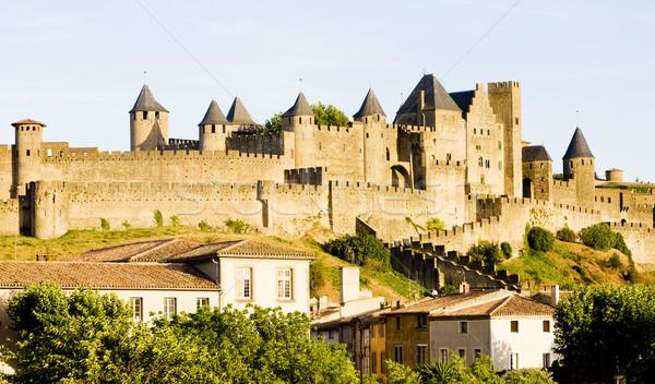 Carcassonne, Languedoc-Roussillon, France Stock photo © phbcz