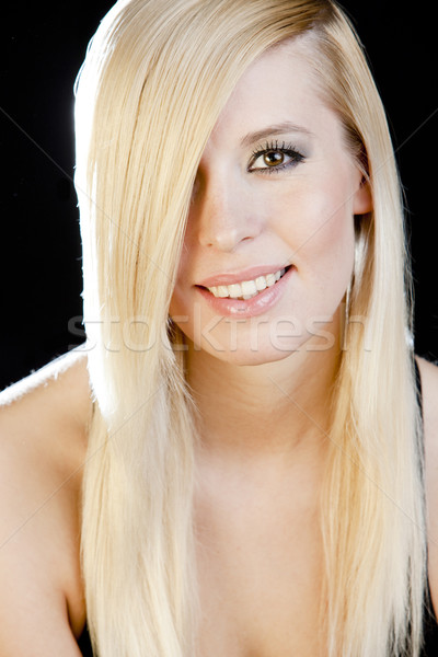 young woman's portrait Stock photo © phbcz
