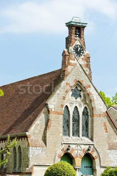 church in Burwell, East Anglia, England Stock photo © phbcz