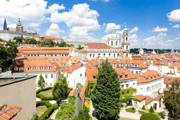 Prague Castle and Little Quarter, Prague, Czech Republic Stock photo © phbcz