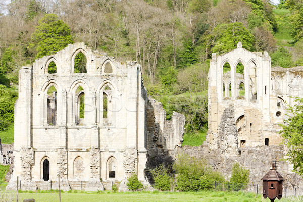 Stock photo: ruins of Rievaulx Abbey, North Yorkshire, England