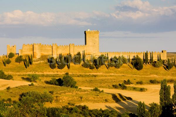 Stock photo: Penaranda de Duero Castle, Burgos Province, Castile and Leon, Sp