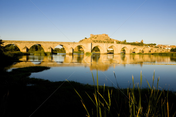 スペイン 旅行 建物 アーキテクチャ 橋 町 ストックフォト © phbcz