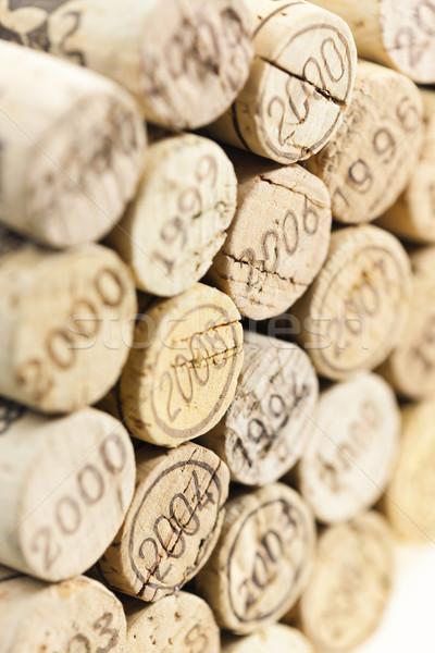 still life of corks Stock photo © phbcz