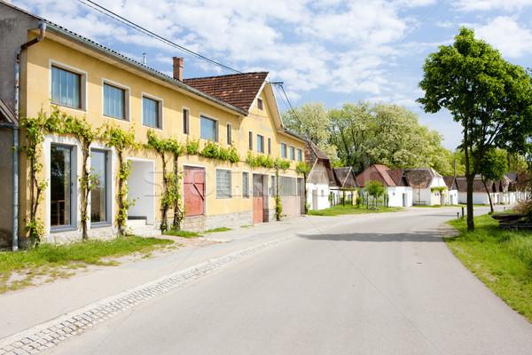 ストックフォト: ワイン · オーストリア · 建物 · アーキテクチャ · 村