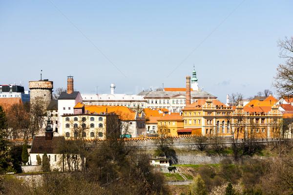 Castello Repubblica Ceca casa viaggio architettura cityscape Foto d'archivio © phbcz