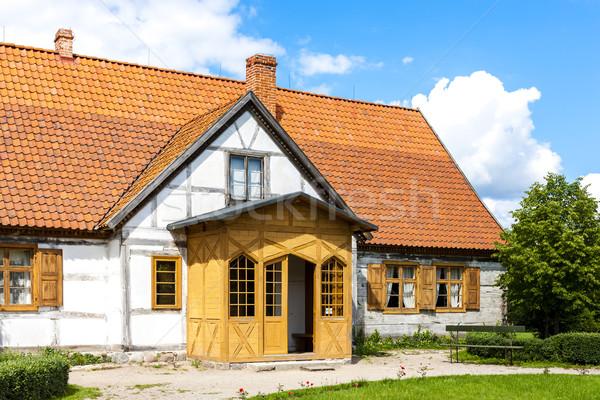 Kaszubski ethnographic park in Wdzydzki Park Krajobrazowy, Pomer Stock photo © phbcz