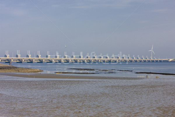 Delta Holanda água energia poder planta Foto stock © phbcz