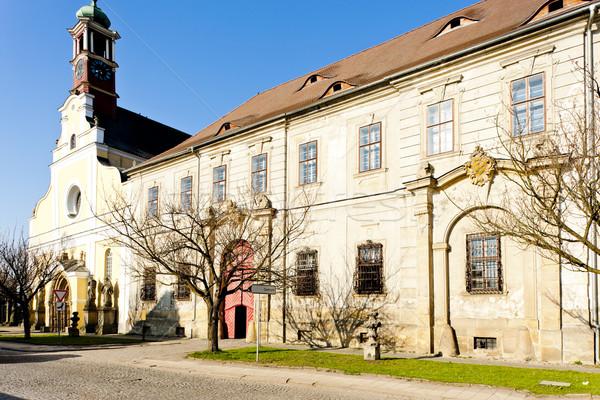Chiesa vergine monastero polizia Repubblica Ceca Foto d'archivio © phbcz