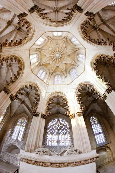 Interni monastero costruzione architettura gothic Foto d'archivio © phbcz