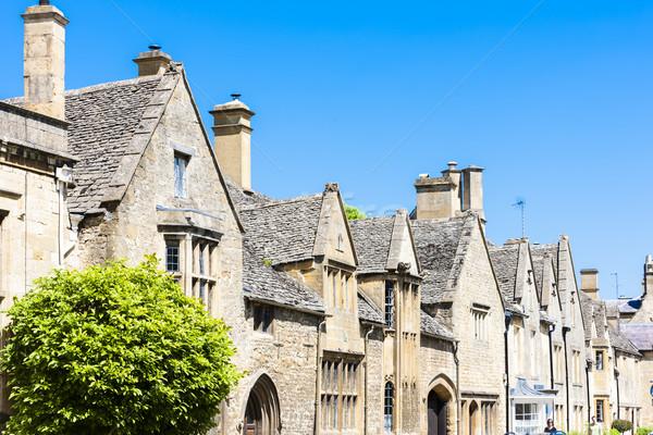 House of Wiliam Grevel, Chipping Camden, Gloucestershire, Englan Stock photo © phbcz
