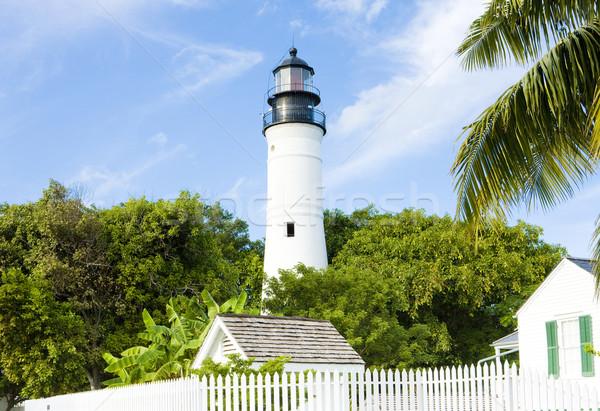ключевые Запад Маяк Флорида ключами США Сток-фото © phbcz
