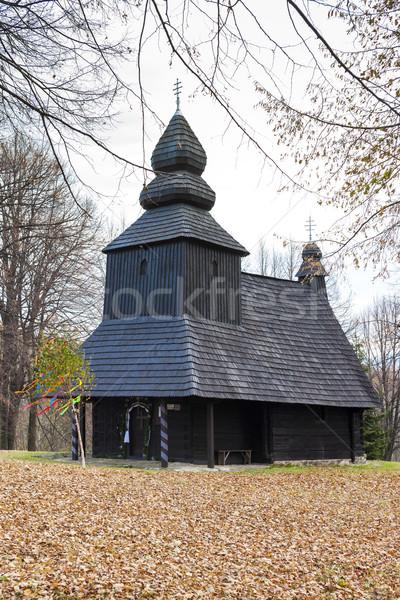 Legno chiesa Slovacchia architettura Europa storia Foto d'archivio © phbcz