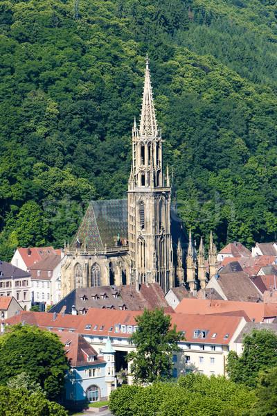 Thann, Alsace, France Stock photo © phbcz