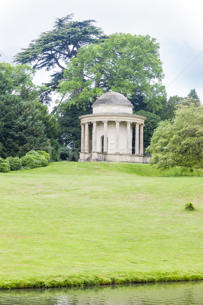 Temple of Ancient Virtue, Stowe, Buckinghamshire, England Stock photo © phbcz