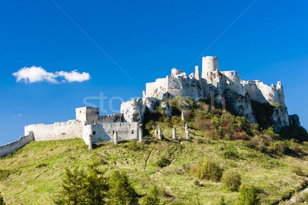城 スロバキア アーキテクチャ ヨーロッパ 遺跡 屋外 ストックフォト © phbcz