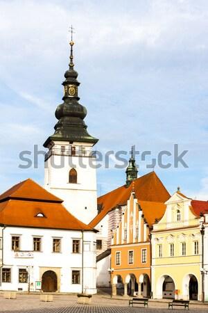 Basiliek dame klooster Slowakije gebouw reizen Stockfoto © phbcz