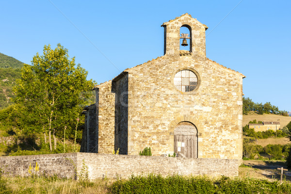 Chapel St. Jean de Crupies, Rhone-Alpes, France Stock photo © phbcz
