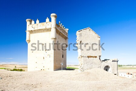 Castle of Villalonso, Castile and Leon, Spain Stock photo © phbcz