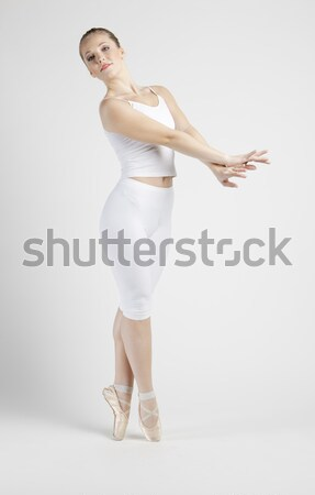 ballet dancer Stock photo © phbcz