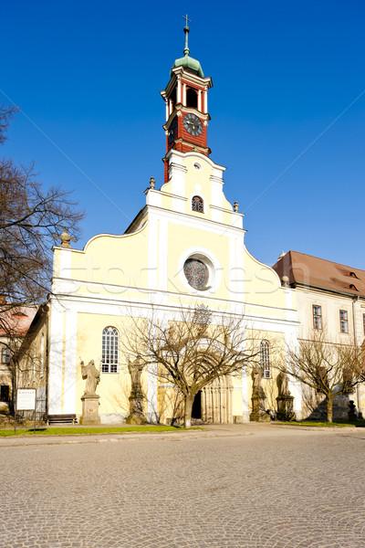 Церкви девственница предположение полиции Чешская республика Сток-фото © phbcz