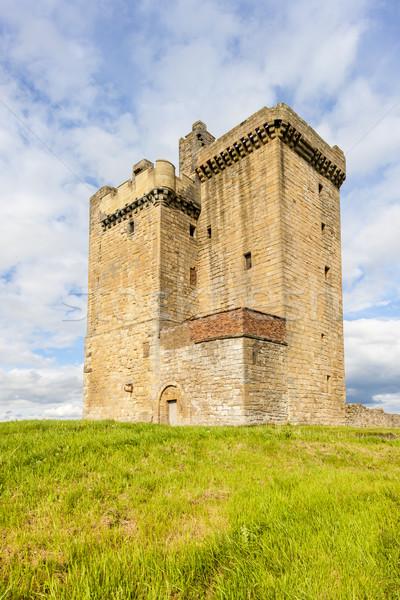塔 スコットランド 城 アーキテクチャ ヨーロッパ 歴史 ストックフォト © phbcz