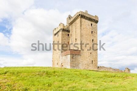 Torre Escocia castillo arquitectura Europa historia Foto stock © phbcz