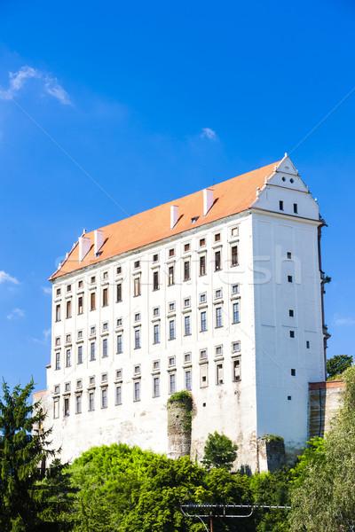 Paleis Tsjechische Republiek gebouw reizen architectuur Europa Stockfoto © phbcz