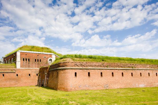 Fortificación Polonia viaje arquitectura historia aire libre Foto stock © phbcz