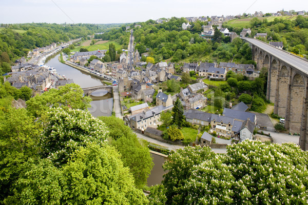 Dinan, Brittany, France Stock photo © phbcz