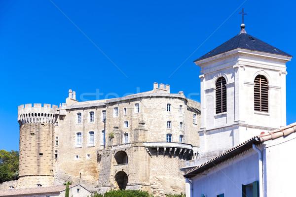 Afdeling Frankrijk huis kerk reizen kasteel Stockfoto © phbcz