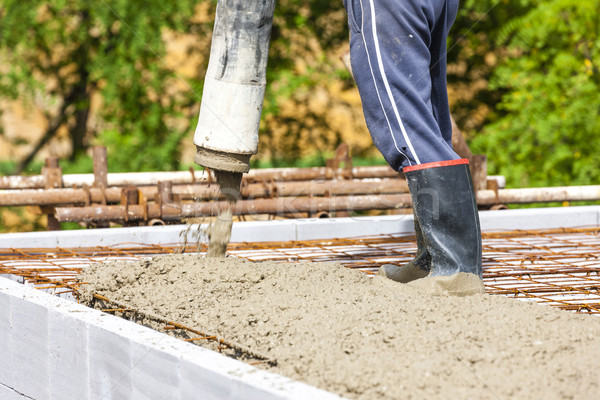 construction of a house Stock photo © phbcz