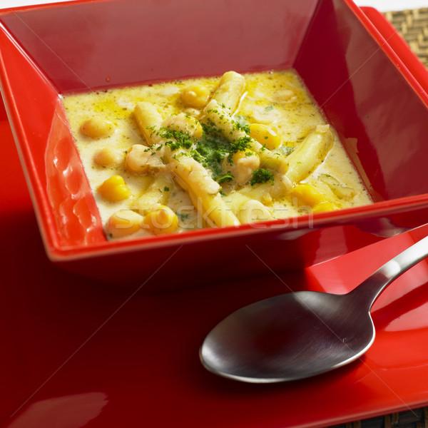 light bean soup Stock photo © phbcz