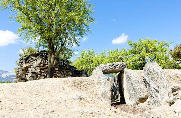 могилы Испания путешествия каменные древних Сток-фото © phbcz