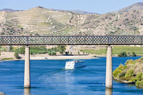 鉄道 クルーズ船 谷 ポルトガル 橋 川 ストックフォト © phbcz