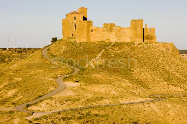 Montearagon Castle, Huesca Province, Aragon, Spain Stock photo © phbcz