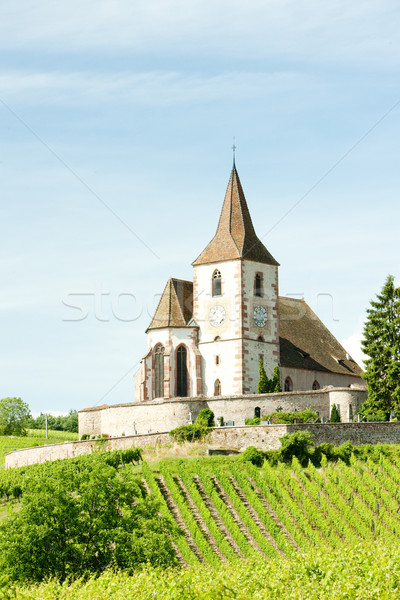 Hunawihr, Alsace, France Stock photo © phbcz
