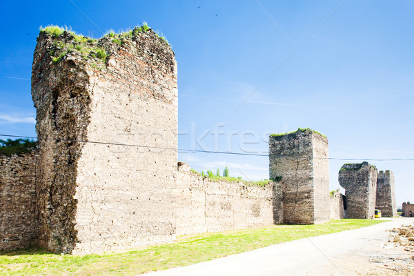 Smederovo Fortress, Serbia Stock photo © phbcz