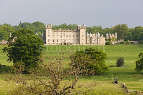 Pisos castelo escócia edifício viajar Foto stock © phbcz