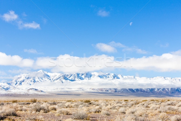 Kış dağlar Nevada ABD bulutlar manzara Stok fotoğraf © phbcz
