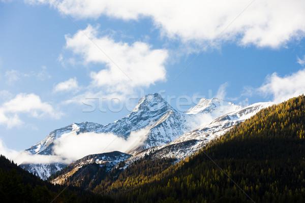 Альпы пейзаж Швейцария путешествия гор Европа Сток-фото © phbcz
