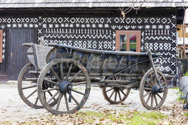 Cicmany, Slovakia Stock photo © phbcz
