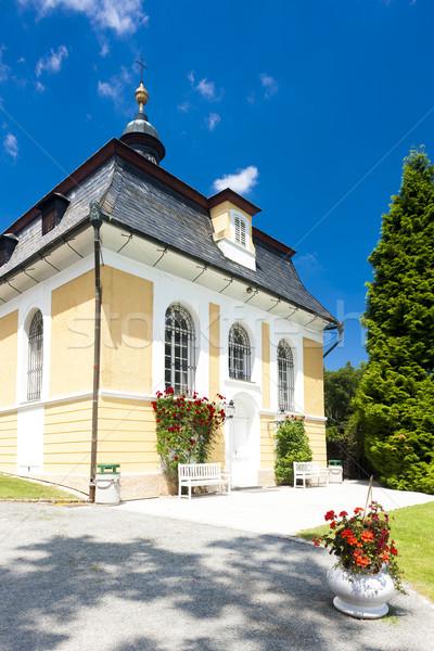 дворец Чешская республика здании путешествия архитектура Европа Сток-фото © phbcz